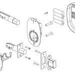 InSync™ D - Electronic Deadbolt - RD01 - Community Controls